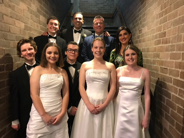 Our student leaders at the 2018 Sutherland Shire Mayoral Ball