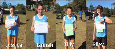 Our Cross Country stars